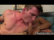 Gay big cock blow job Sergio fucks him stiff from behind, prodding