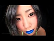 Japanese Blue Lipstick (Spitting-Fetish)