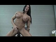 Picture Hot muscle girl with beautiful big clit