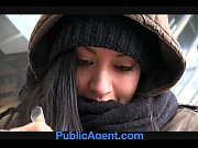 Picture PublicAgent Homeless girl gets fucked to pay...