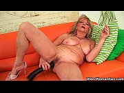 Picture Grandmother with large breasts pushes huge d...