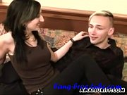 young amateur couple homemade hardcore action - more.
