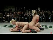 horny babes fight sweating hard