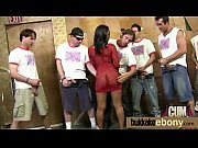 Ebony group fucking and facial bukkake 16
