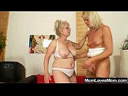 Picture Well-endowed grandma penetrates a milf