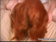 hot and horny redhead masturbates sucks