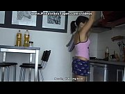 Picture Nude couple having sex in the kitchen and re...