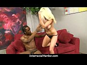 Hot Cougar cums hard on young black cock 17