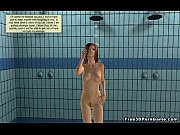 Foxy 3D cartoon babe getting fucked in a jail cell