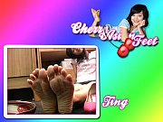 cherry asianfeet - model ting