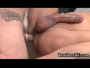 Brad fucking and wanking in the office gay porn