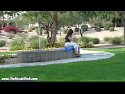 Foot Fetish at the Park MINDI MINK MILF VOYEUR FEMDOM
