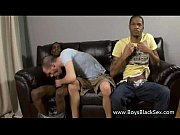 Blacks On Boys -Interracial Gay Bareback Nasty Porn Video 17