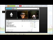 Michael Dean Major from Halethorp injecting heroin in Tinychat.