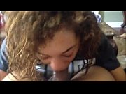 Black teen POV blowjob