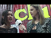 Hot Young and Sweet Brunette Skin Diamond Interviewed at the 2012 AVN Awards