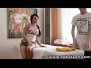 RubATeen Sexy smalltits European teen Danaya massage parlor fucked