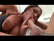 Huge tits slut gets a mean facial!