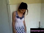 Egyptian Girl Show Her Body for Her Lover Toilet