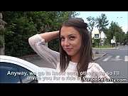 Cutie teen Foxy Di gets anal fucked by dude in the backseat of the car