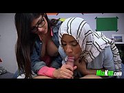 mia khalifa teaches her muslim friend how to.