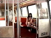 asian exhibitionist on train
