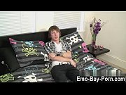 Emo sex young gay Cute fresh emo fellow Devon commences his movie by