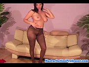 hairy milf in sexy nylon pantyhose