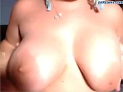 Milf slut with big tits and huge ass triple penetration on cam paxcams.com