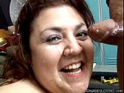 Beautiful big tits BBW Reyna loves to eat cum