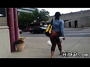 Big Ebony Booty In Spandex Candid Video