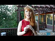propertysex - hot redhead real estate agent performs.