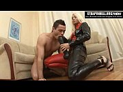 Strapon Hell - Crazy Russian mistress fucks her slave with big strapon