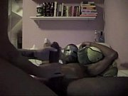 Masked white girl takes a big black cock in the ass. My X-mas live webcam show: