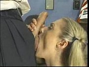Facial after the blowjob