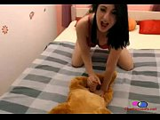 Girl Gives Her Dog Blow Job - Chattercams.net, girl love dog cum Video Screenshot Preview