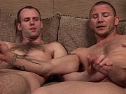 Str8 6'6'' hung stud and his bi gay4pay porn buddy.