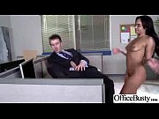in office hormy slut big tits worker girl.