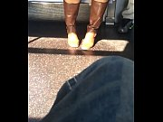 L train Upskirt