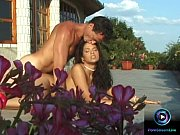 sex starving babe foxy fucking outside under the sun