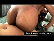 Ebony teen amateur makes first porn