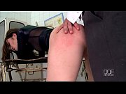 Picture Secretary Mish Cross gets an anal creampie B...