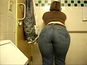 Picture Big White Ass on the Bathroom