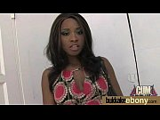 A sex movie with a young member sucker with ebony skin that is greedy of getting pounded by several men, facials and to do blowjobs
