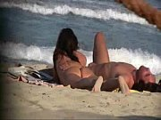 Nudist couple secretly filmed at the beach