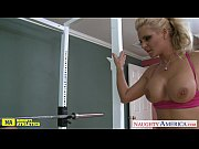 Sporty blondie Phoenix Marie fucking, boob suck in gym Video Screenshot Preview