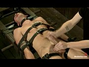 Nice big cock tied up and teased mercilessly