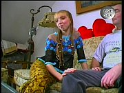 VERY CUTE German Teen Stripping &amp_ Having sex with Older Guys