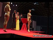 Hot girls pose nude at strip show, mela stage Video Screenshot Preview