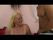 Picture Blonde old mature gets her hairy pussy slamm...